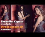 Shraddha Kapoor sports a gorgeous look as she kick starts Street Dancer 3D promotion