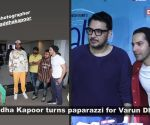 Shraddha Kapoor turns photographer for Varun Dhawan