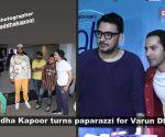 Shraddha Kapoor turns photographer for Varun Dhawan