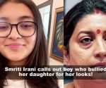 Smriti Irani posts a strong message for daughter Zoish Irani after she gets bullied for her looks!