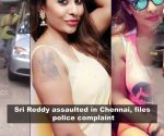 Sri Reddy alleges assault by financier and assistant at Chennai home, files complaint