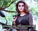 Taapsee Pannu shuts down troll who commented on her body; Deepika Padukone breaks silence on Ranbir Kapoor's absence from wedding and more...