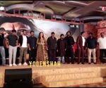 Tamannaah Bhatia bedazzles in spectacular ethnic wear at teaser launch of Chiranjeevi's 'Sye Raa Narasimha Reddy'