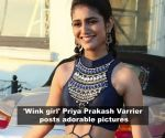 This is what Priya Prakash Varrier does during her leisure time; Urmila Matondkar may contest Lok Sabha elections from North Mumbai; and more…