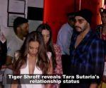 Tiger Shroff hints Tara Sutaria is dating Sidharth Malhotra