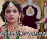 To play her role to perfection in 'Zero', Anushka Sharma spends hours on a wheel chair