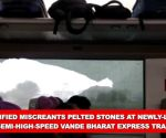 Unidentified miscreants pelt stones at newly-launched Vande Bharat for 2nd time in February