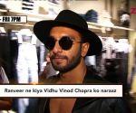 Vidhu Vinod Chopra upset with Ranveer Singh!