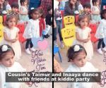 Watch: Cousin's Taimur Ali Khan and Inaaya Kemmu dance with friends at a party