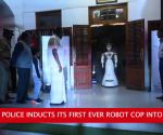 Watch: Kerala inducts the country's first ever robot cop into service