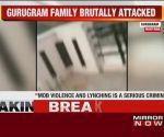 Watch: Mob brutally attacks family in Gurugram on Holi