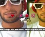 Watch: Ranveer Singh has the most epic reply to his haters