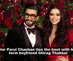 'Yeh Rishta Kya Kehlata Ha' actress Parul Chauhan weds Chirag Thakkar