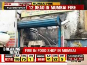 12 dead as fire breaks out in Mumbai shop, rescue operations underway