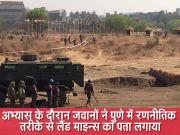 भारत और 16 अफ्रीकी देशों का संयुक्त सैन्य अभ्यास में की गई माइन्स हटाने की ड्रिल
