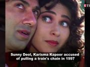 1997 train chain-pulling case: Sunny Deol and Karisma Kapoor charged by Railway court
