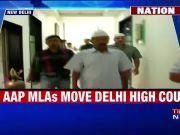20 AAP MLAs move Delhi HC against their disqualification