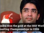 36th Birth anniversary of former Olympic champion Abhinav Bindra
