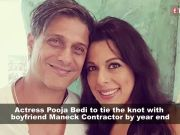 48-year-old Pooja Bedi gets engaged to boyfriend Maneck Contractor
