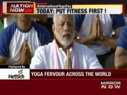 4th International Yoga Day: PM Modi performs yoga with 50,000 others in Dehradun
