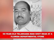 50-year-old Telangana man shot dead at Florida departmental store