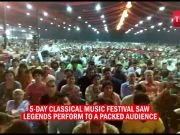 65th Sawai festival ends on a high note