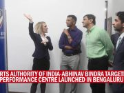 Abhinav Bindra and SAI launch Targeting Performance Centre in Bengaluru