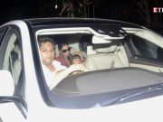AbRam Khan in no mood to get clicked?