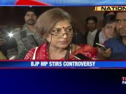 Actor-turned-politician Roopa Ganguly sparks new controversy