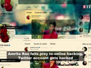 After Amitabh Bachchan, Amrita Rao's Twitter account gets hacked