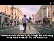 After Tanushree Dutta, Vinita Nanda slams Ajay Devgn for working with Alok Nath in 'De De Pyaar De'
