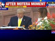 Agra: US President Donald Trump, Melania visit Taj Mahal