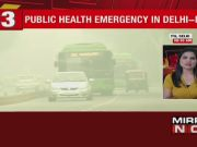 Air quality continues to remain severe in Delhi-NCR