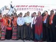 AIs First Dreamliner lands in India