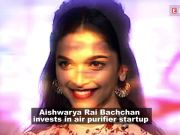 Aishwarya Rai Bachchan invests Rs 1 crore in Bengaluru-based environment startup