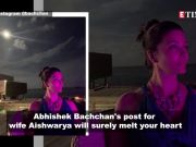 Aishwarya Rai Bachchan looks mesmerising in Abhishek Bachchan's anniversary post from Maldives