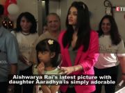 Aishwarya Rai is the best mother and this picture is proof!