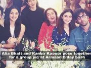 Alia Bhatt and Ranbir Kapoor's PDA moment from actor's cousin Armaan Jain's birthday bash goes viral