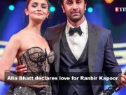 Alia Bhatt says 'I love you' to Ranbir Kapoor; Sapna Choudhary denies joining Congress, and more