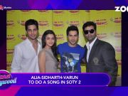 Alia Bhatt, Sidharth Malhotra and Varun Dhawan to reunite for 'SOTY2'?
