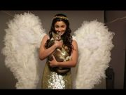 Alia turns angel for animals