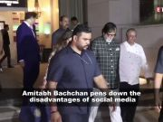 Amitabh Bachchan calls social media 'modern generation atomic bomb'