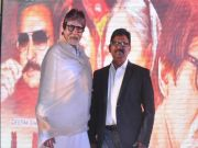 Amitabh Bachchan features in his make-up man's film
