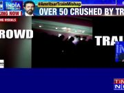 Amritsar train mishap: Shocking video footage of accident site