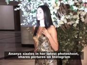 Ananya Panday sizzles in her latest photoshoot!