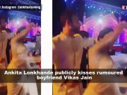 Ankita Lonkhande publicly kisses rumoured boyfriend; Arjun Kapoor opens up on wedding rumours with Malaika Arora, and more
