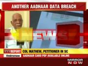 Another Aadhaar data breach: Card PDF available only