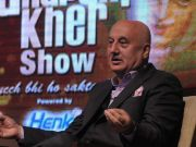 Anupam on his chat show