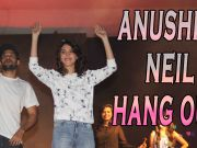Anushka, Neil hang out with college students