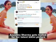 Anushka Sharma's latest bikini picture invites a meme fest on Twitter